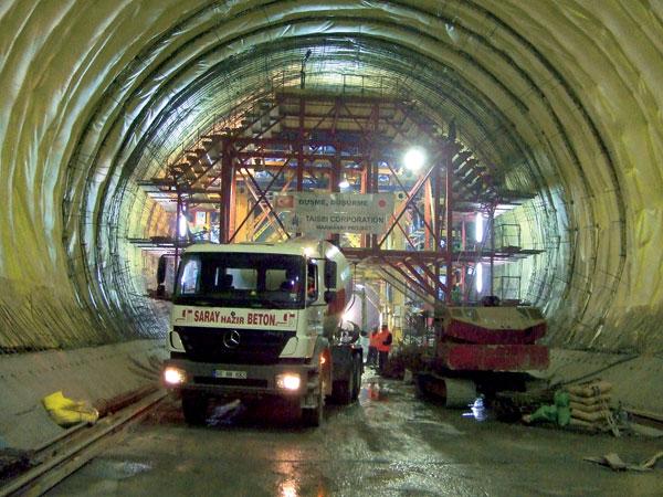 Výstavba bosporského železničného spojenia