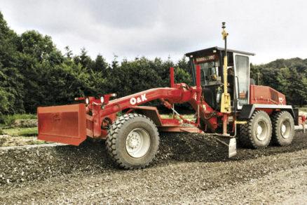 Využitie strojov pri výstavbe dopravných stavieb