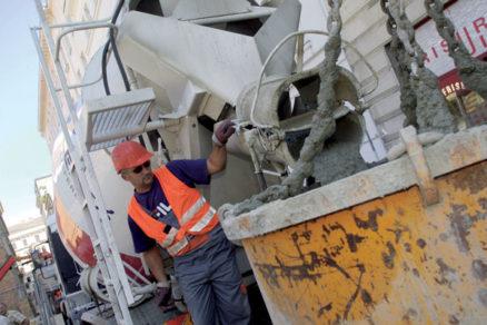 Zásady práce s betónovou zmesou