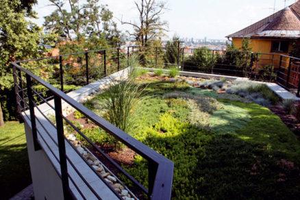 Zelené strechy = ekologicky + ekonomicky + esteticky