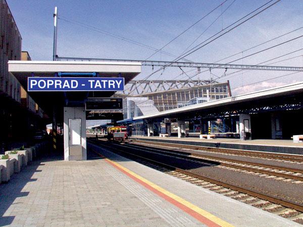 Železničná stanica Poprad – Tatry má nové nástupiská a podchody