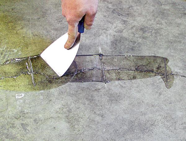 zosivanie trhlin v betone