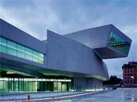 Muzeum umenia MAXXI (Zahy Hadid)