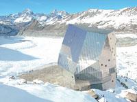 Jedinečná vysokohorská chata - Monte Rosa Hut